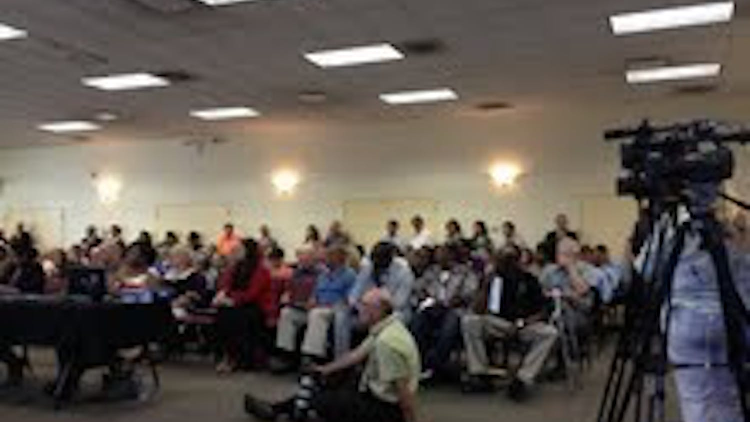 City Council's plan to address homelessness drew a large crowd Tuesday night.