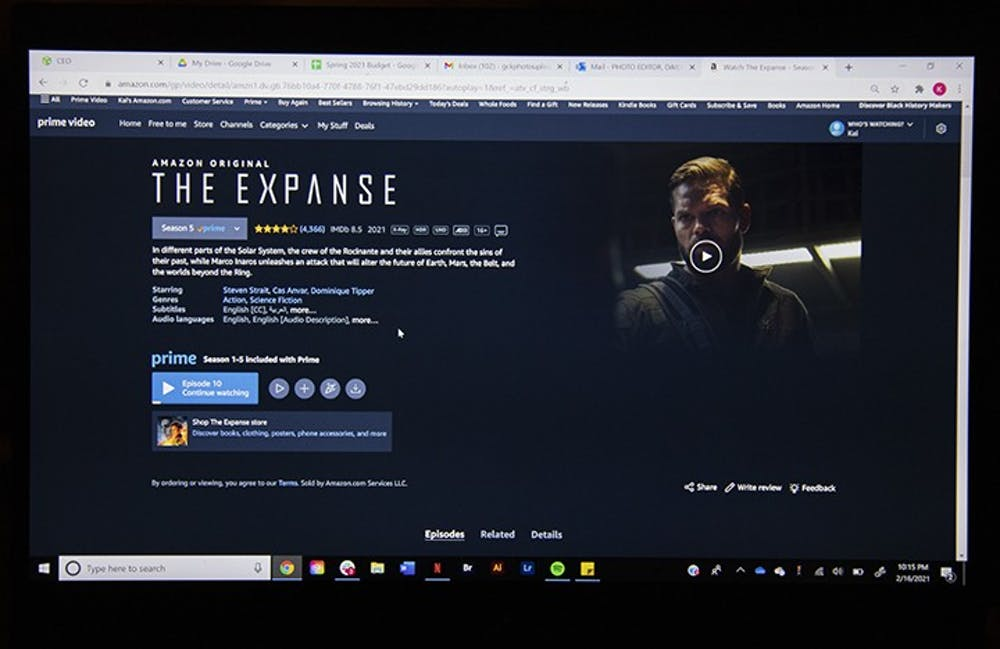 """""""The Expanse"""" is a sci-fi television show that aired on Dec. 14, 2015. The show can be watched on Amazon Prime."""