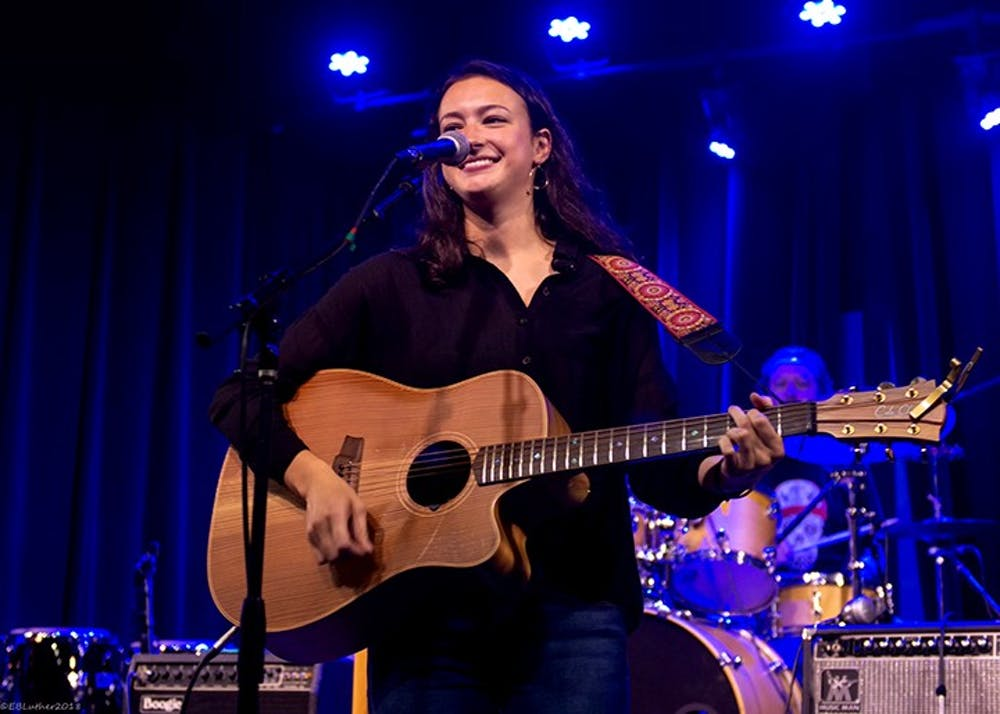 "Mia Green performed in July 2018 at Isis Music Hall in Asheville, North Carolina. The songs she performed were released on her ""Paper Days"" album."