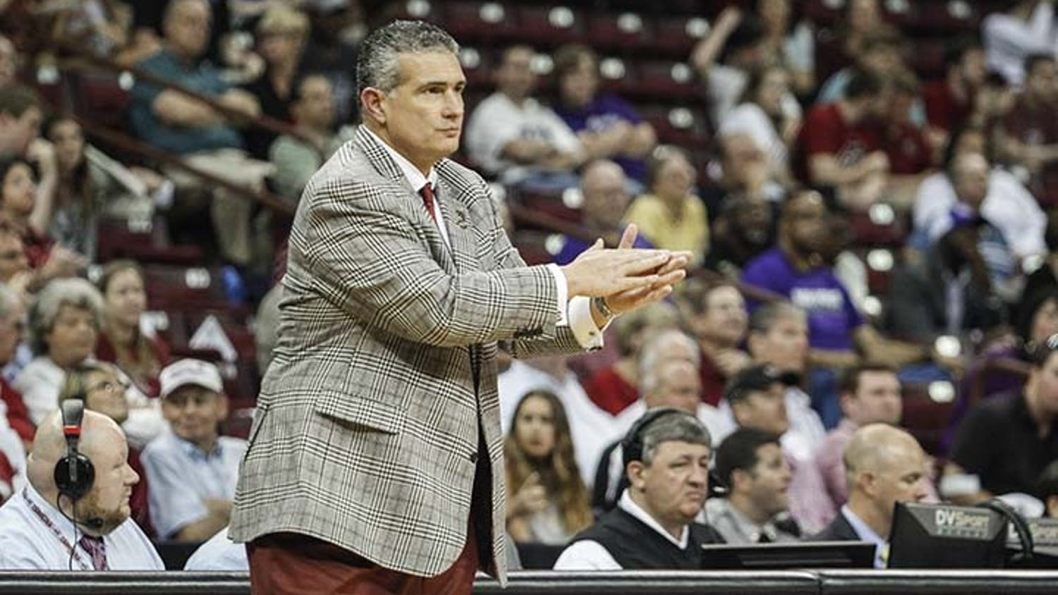Head coach Frank Martin spoke to the media Monday to address his contract and roster moving aheadinto the future.