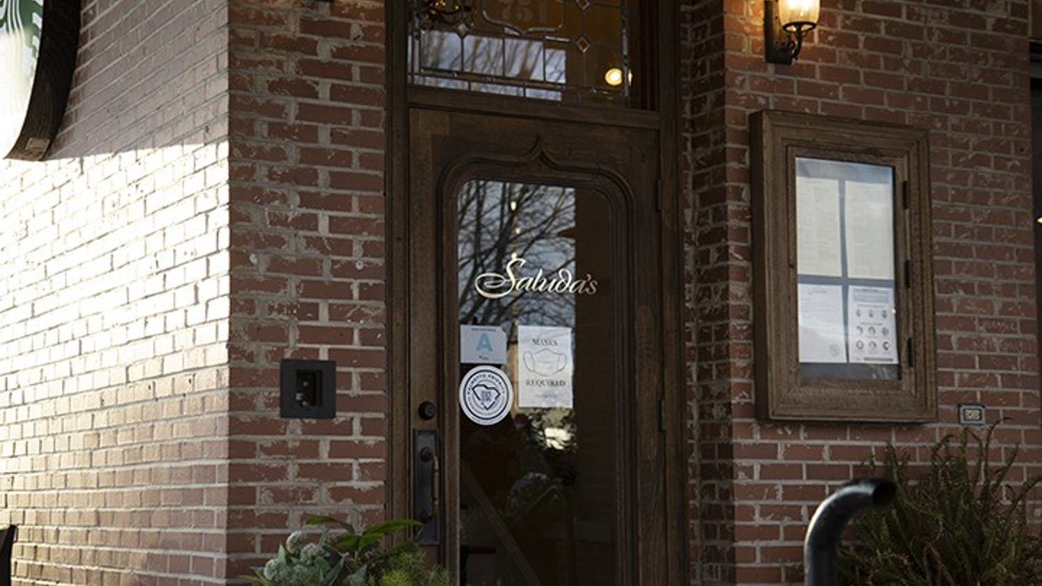 Saluda's Restaurant, located above Starbucks in Five Points, offers a fine dining atmosphere for both you and your date this Valentine's Day. Saluda's is currently offering a romantic three-course menu over Valentine's Day weekend, Feb. 12-14.