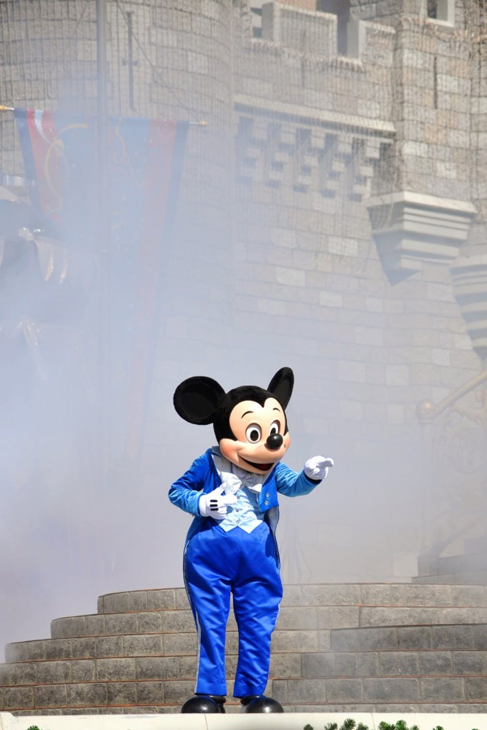 Mickey Mouse in Dream Along with Mickey show in Disney World, Orlando, Fla. (Dreamstime/TNS)