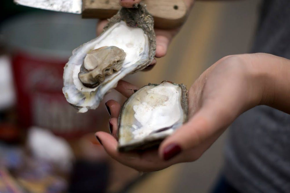 <p>This year was the 20th anniversary of the South Carolina Oyster Festival, which included family activities, two stages for entertainersand, of course, oysters.</p>