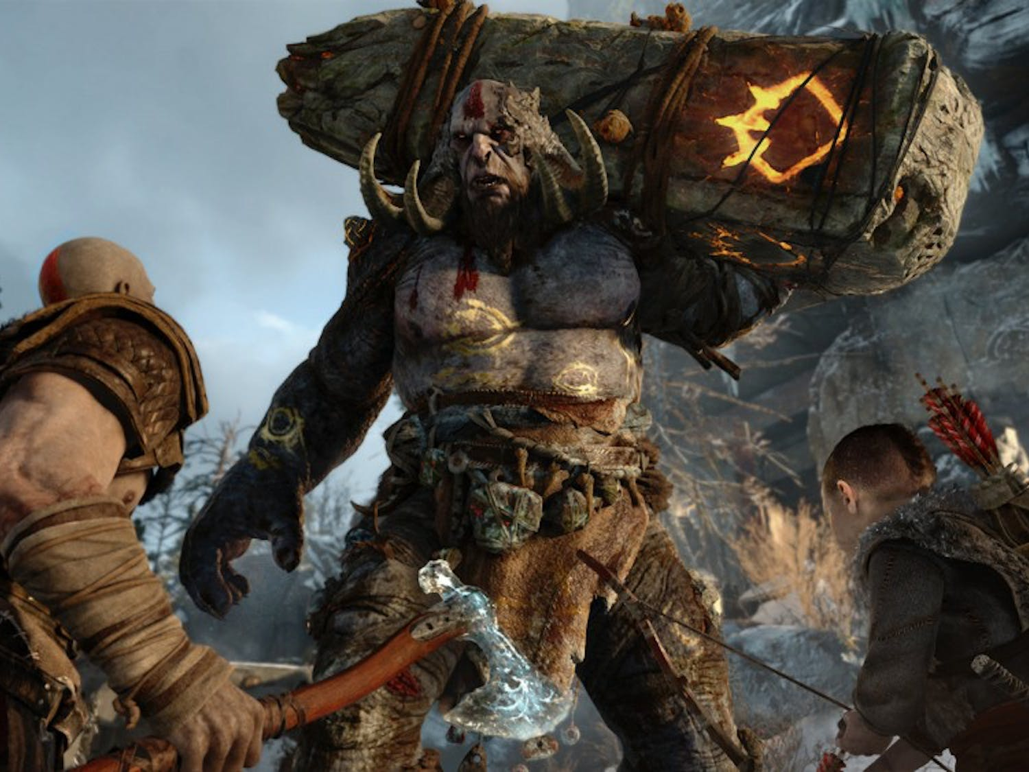 """The new """"God of War"""" was revealed at the Sony conference and will release exclusively on PS4."""