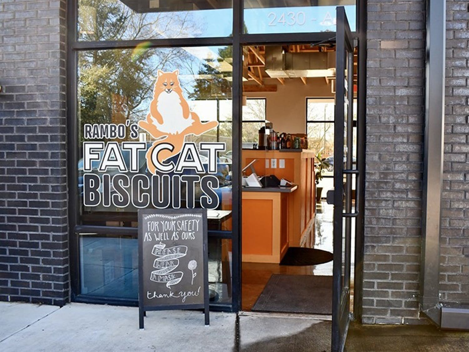 Rambo's Fat Cat Biscuits recently opened its first brick-and-mortar location on Main Street. Rambo's debuted at Soda City in 2018 and has grown in popularity since.