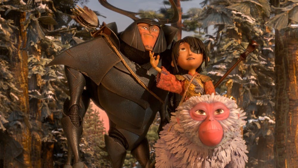 """A still from """"Kubo and the Two Strings."""" (Focus Features)"""