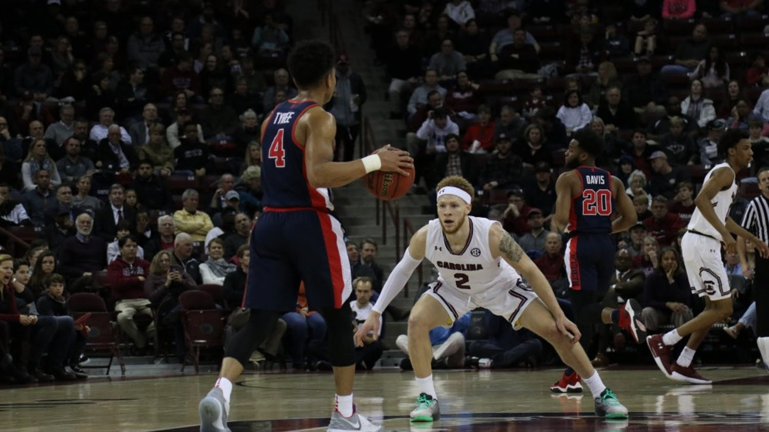 South Carolina men's basketball continues its SEC winning streak after defeating the Ole Miss Rebels on Tuesday, Feb. 19.