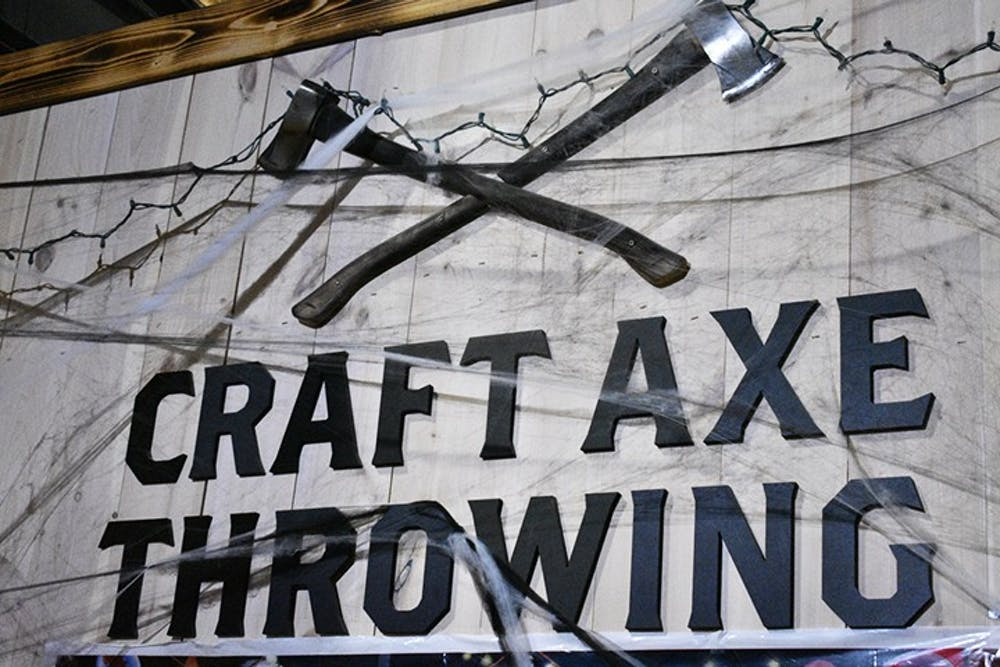 <p>&nbsp;Craft Axe Throwing is located in the Vista on Gervais Street.</p>