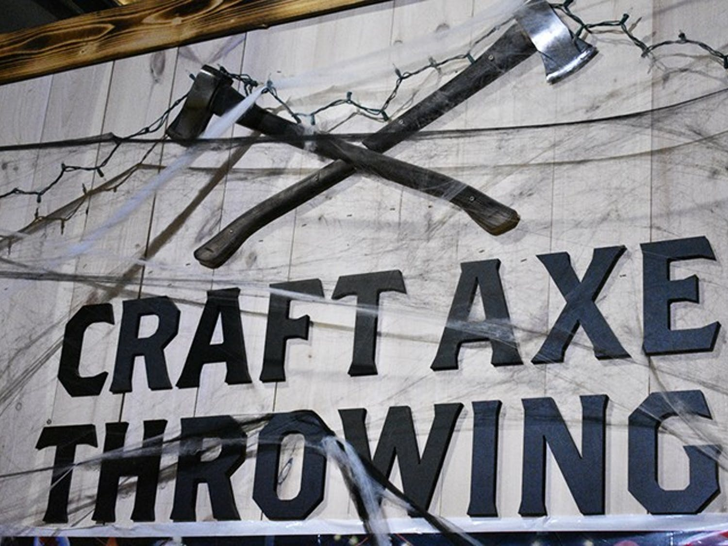 Craft Axe Throwing is located in the Vista on Gervais Street.