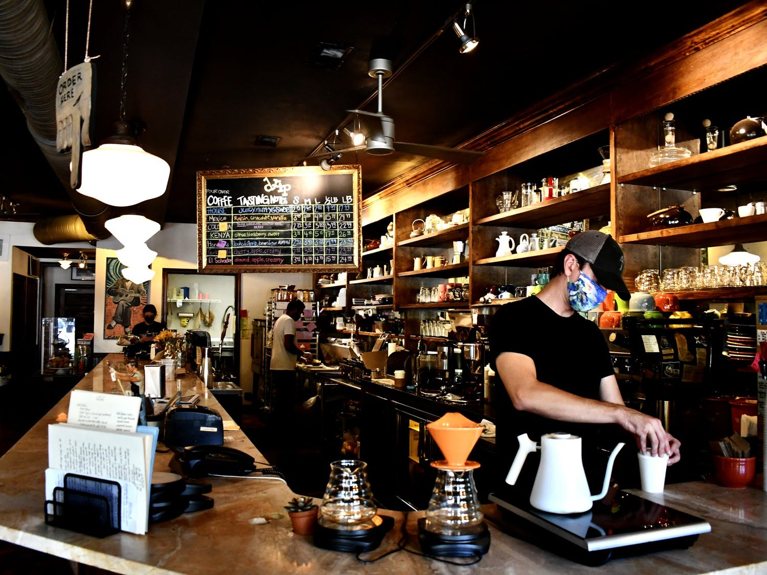 Drip Coffee has an extensive menu, so anyone can come in and leave with a drink personal to them.
