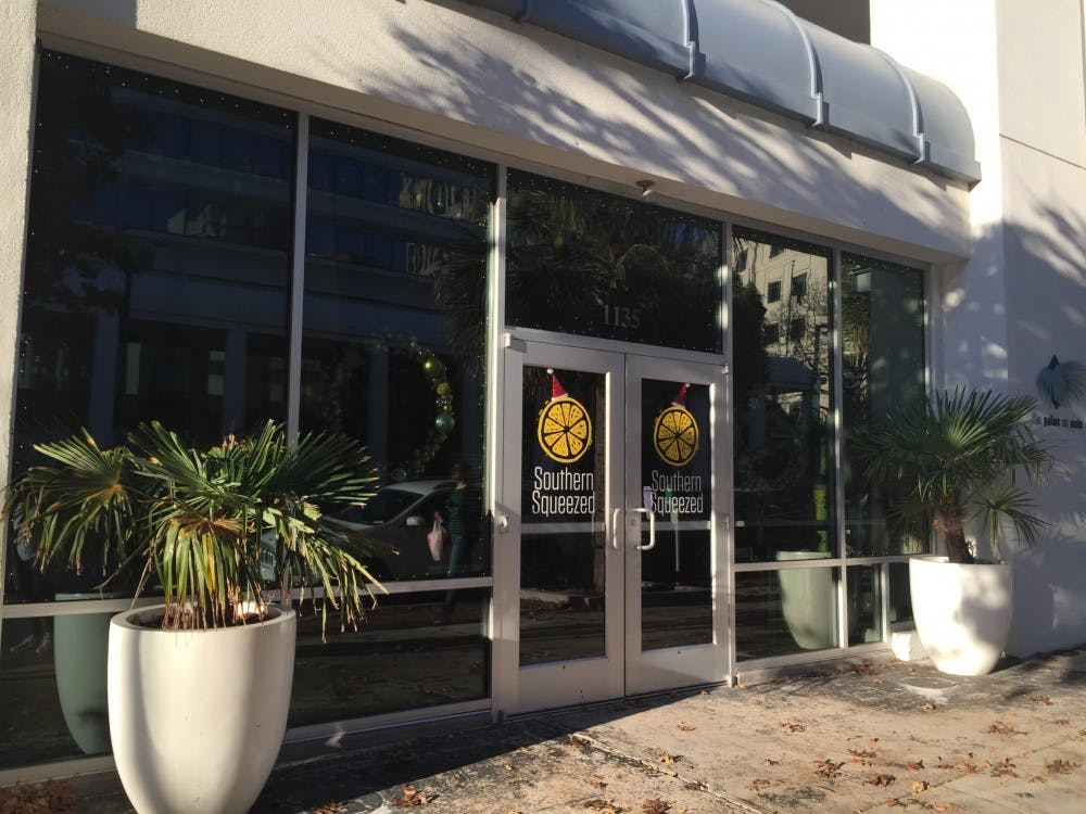 <p>Southern Squeezed's juices can also be found at the farmer's market on Greene Street every Tuesday.</p>