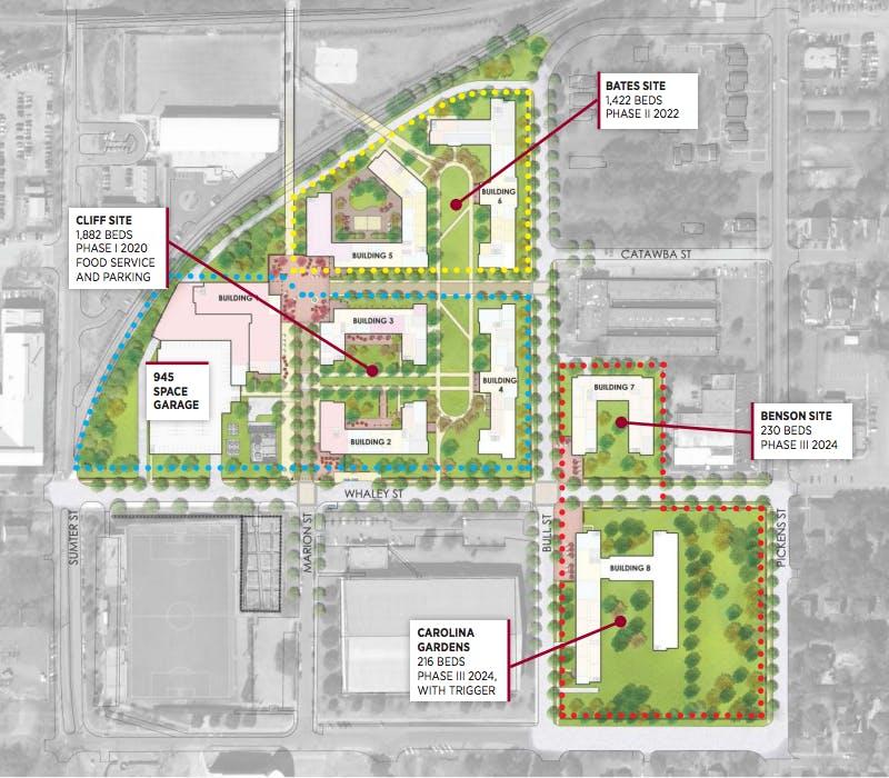 Trustees approve 460 million Campus Village project – Usc Village Housing Floor Plans