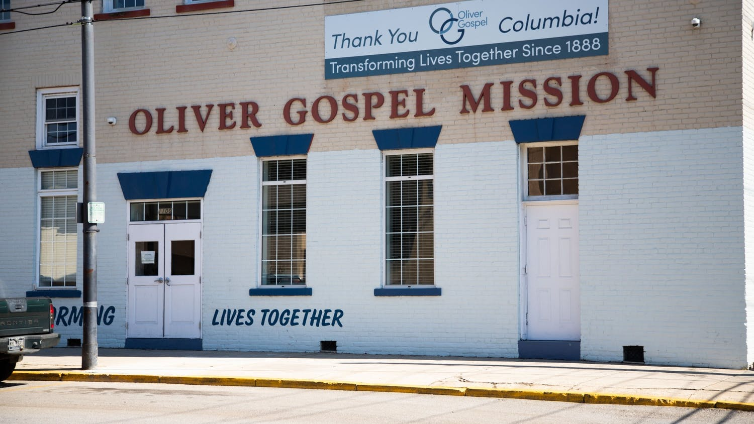 The Oliver Gospel Mission provides food and emergency shelter for the Columbia homeless population.