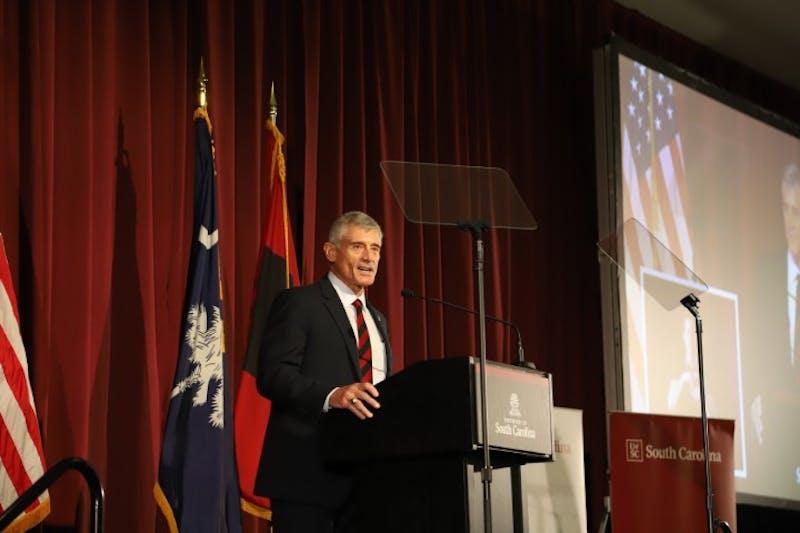 Bob Caslen resigns, former president Harris Pastides steps in as interim