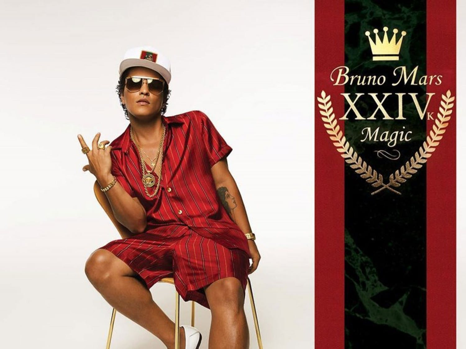 """Bruno Mars """"24k Magic"""" was released on Nov. 18. The album shows a new side of Mars with heavy funk influence anda more soulful sound."""