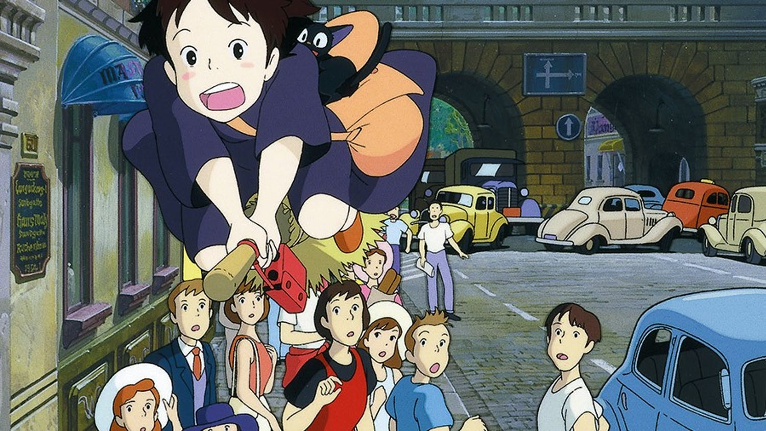"""""""Kiki's Delivery Service"""" tells the heartwarming tale of a young and lovable witch."""