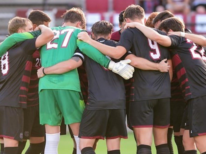 The South Carolina men's soccer team.