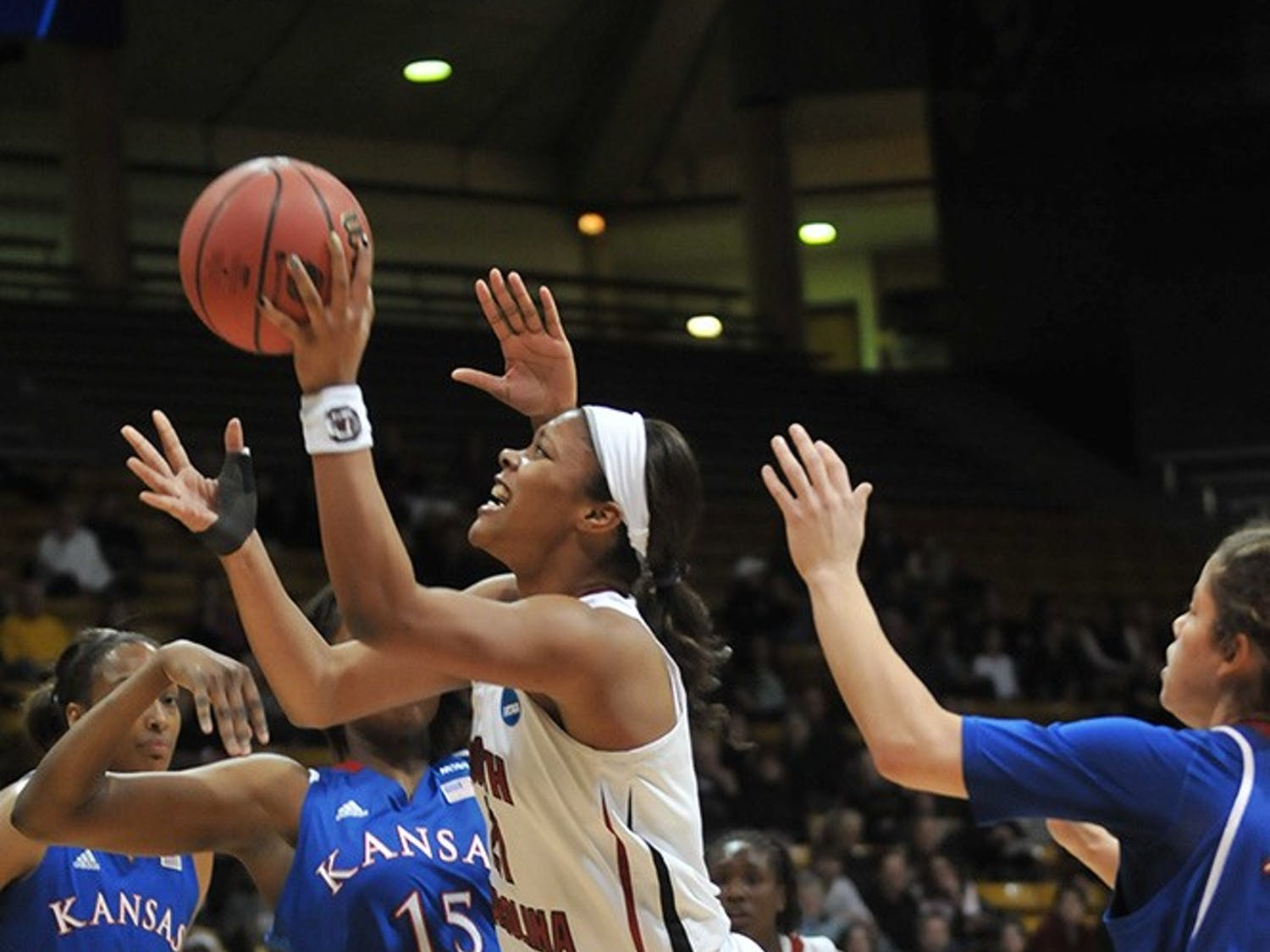 The women's basketball team fell 75-69 to Kansas.