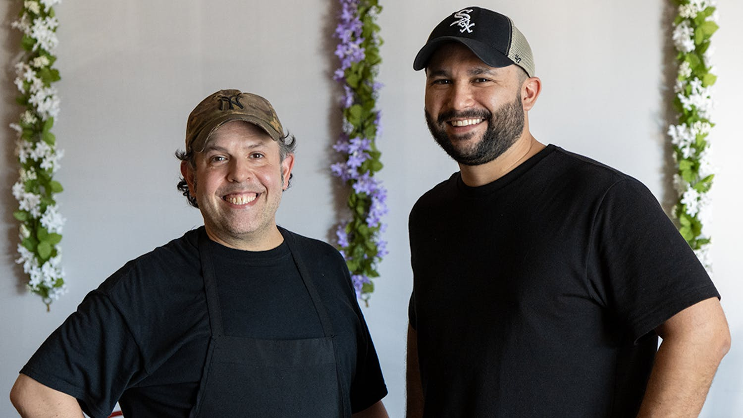 David Grillo (left) and Adam Cabot (right), owners of Boca Grande Burritos in Forest Acres. The restaurant's menu is built to be flexible, offering vegan, vegetarian and gluten-free options.