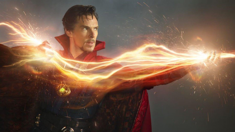 "Benedict Cumberbatch as Dr. Stephen Strange in a scene from the movie ""Docter Strange"" directed by Scott Derrickson. (Marvel Studios/TNS)"