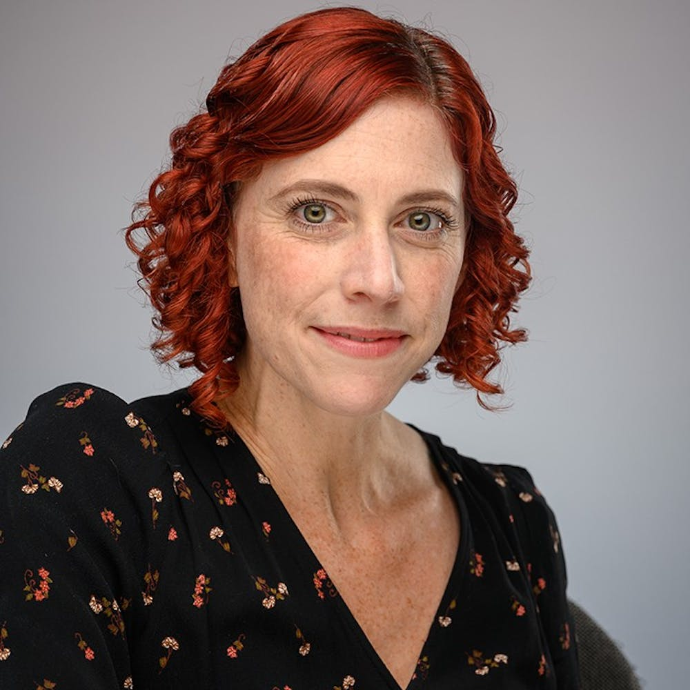 <p>Sharon DeWitte poses for a headshot. DeWitte is a professor of anthropology at USC who researches diseases and their effects on society.</p>