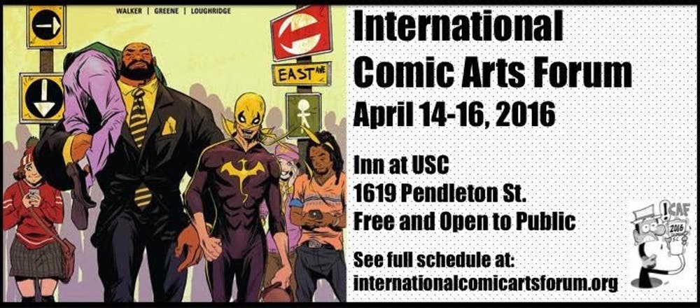<p>The International Comic Arts Forum strives to educate the public about the art of comics and promote this medium.</p>