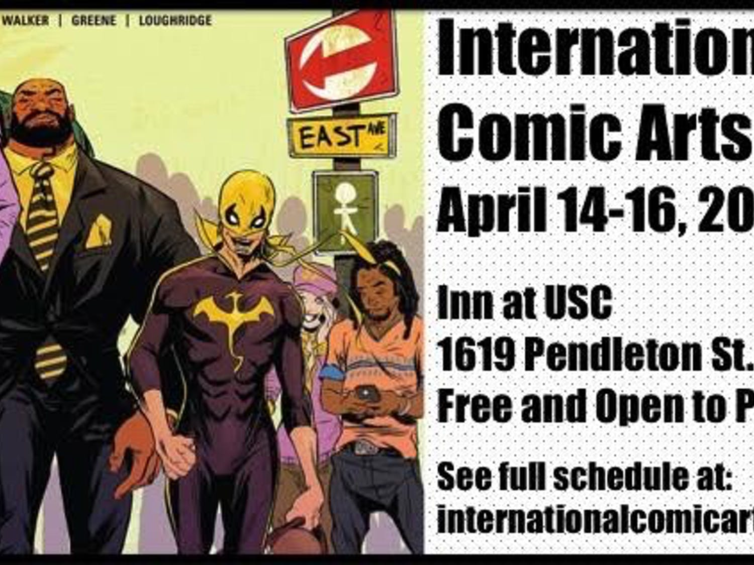 The International Comic Arts Forum strives to educate the public about the art of comics and promote this medium.