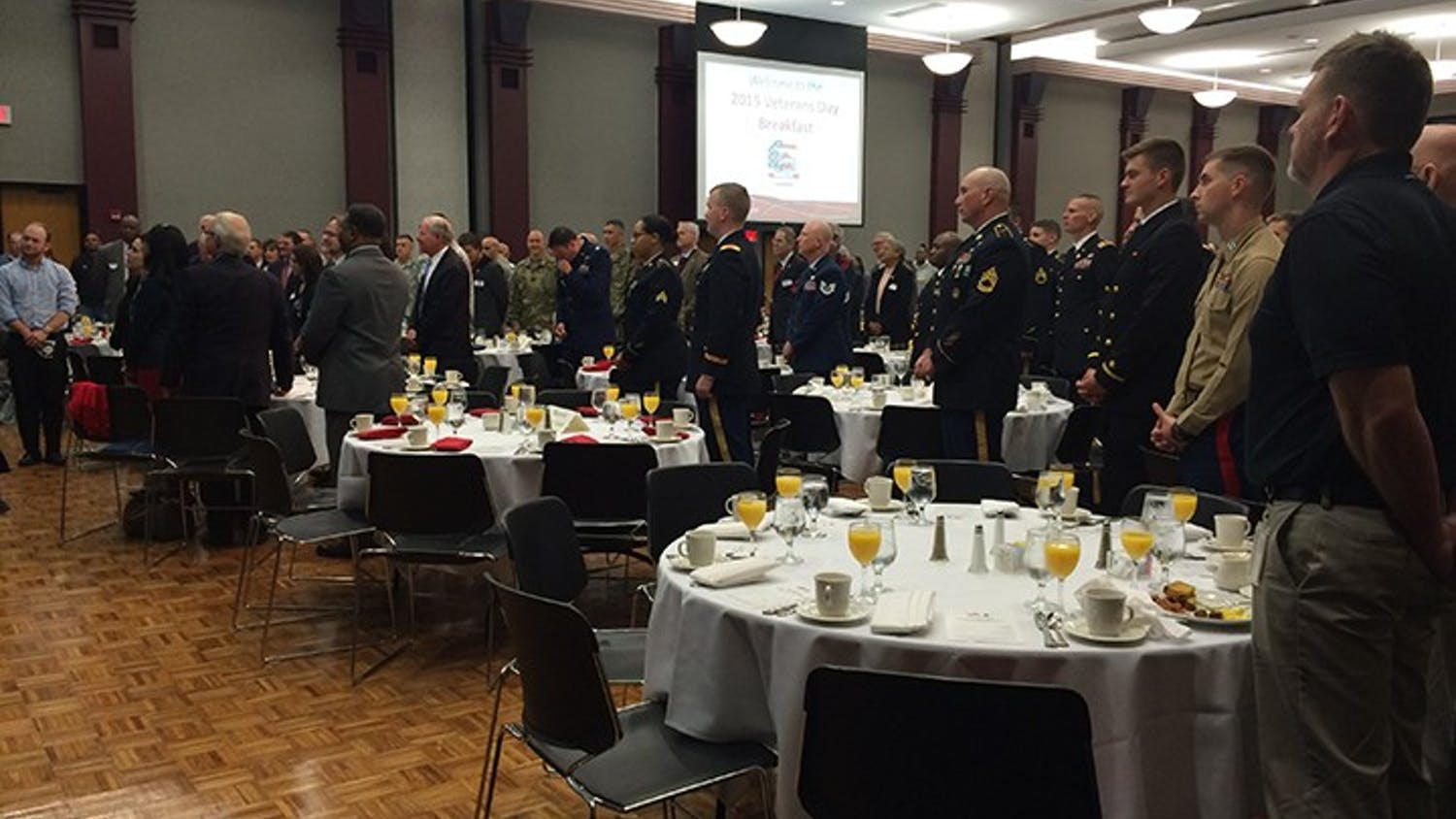 The Veteran's Day Breakfast has grown significantly since it's beginning seven years ago, drawing hundreds of veterans from across the state.