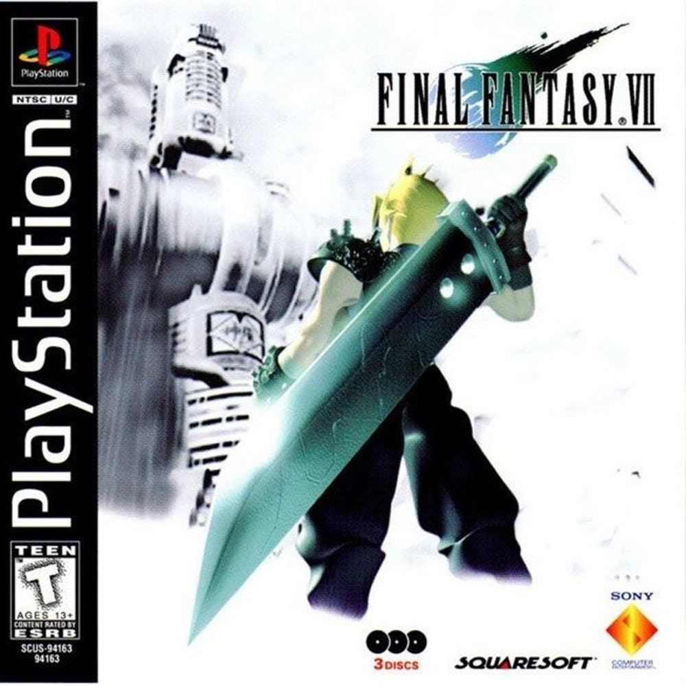 """<p>""""Final Fantasy VII"""" was released in 1997 for the PlayStation.</p>"""