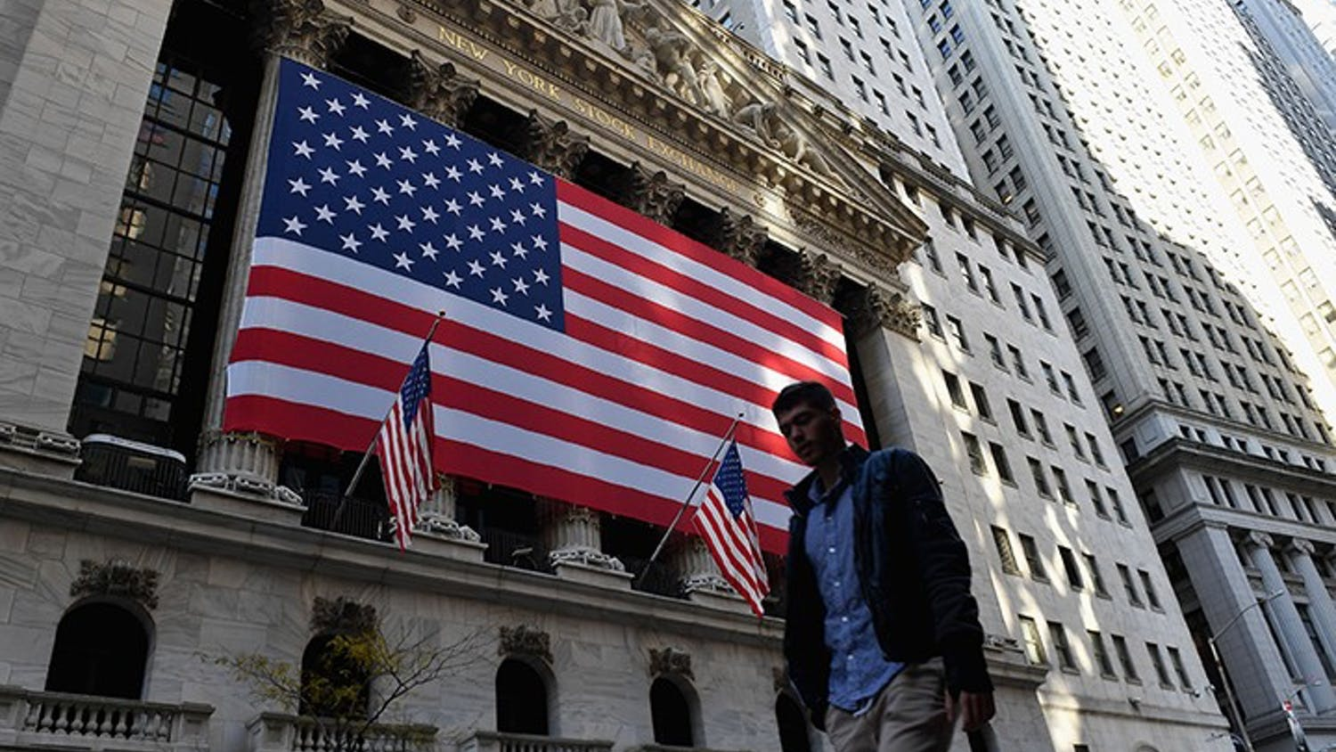 The New York Stock Exchange is located on Wall Street in New York City. It is the largest stock exchange in the world.