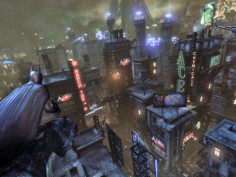 "The Dark Knight soars in ""Batman: Arkham City,"" an ambitious follow-up to Rocksteady's surprising blockbuster, ""Batman: Arkham Asylum."" (MCT)"