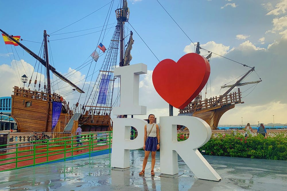<p>Felicia McGill, Black and Abroad co-president, studies abroad in Puerto Rico through the National Student Exchange. Black and Abroad Gamecocks co-president Michaela Catoe studied abroad at the University of Ghana in spring 2020.</p>