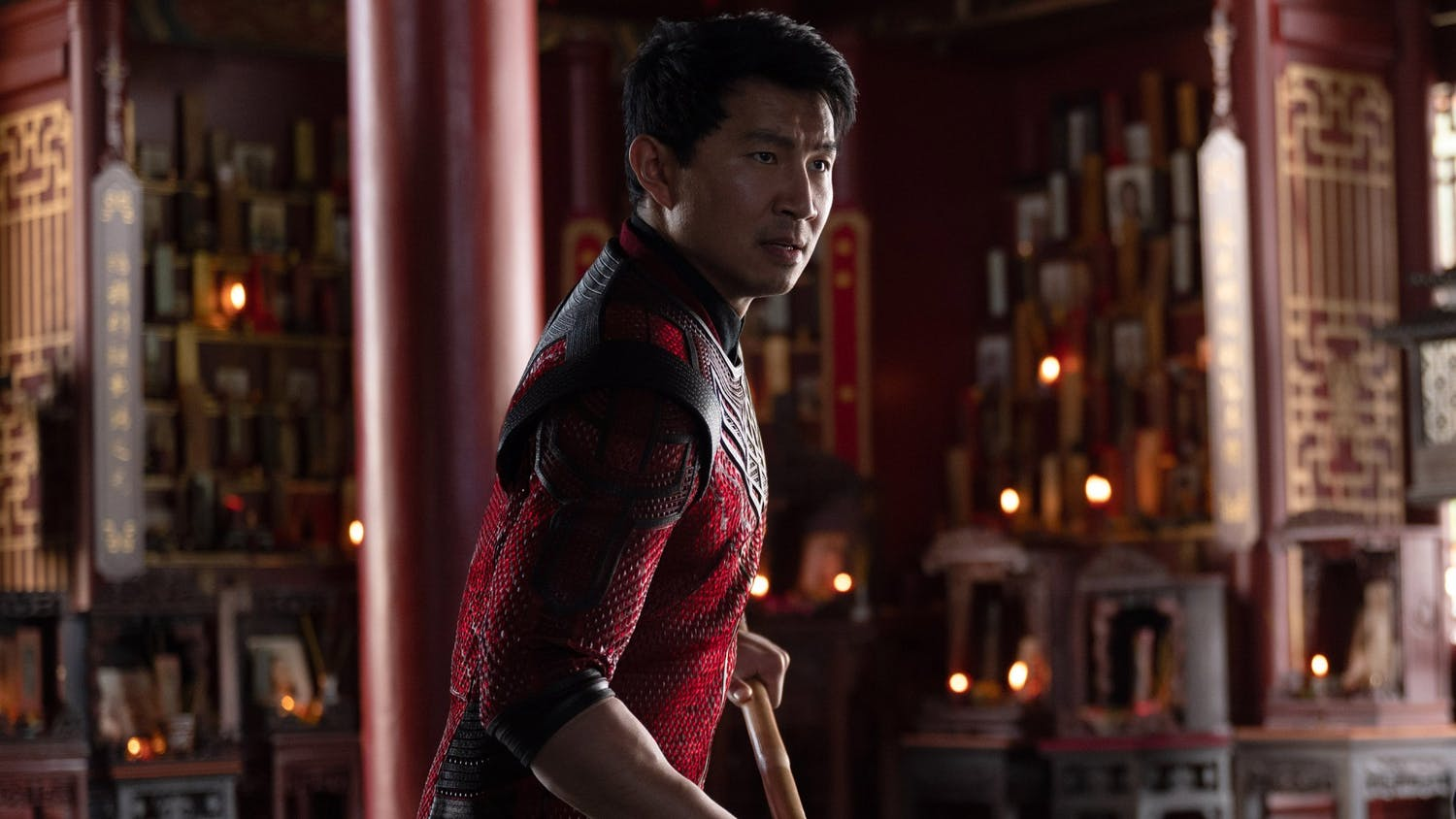 """Simu Liu in the Marvel Studios film """"Shang-Chi and the Legend of the Ten Rings."""" (Jasin Boland/Marvel Studios/TNS)"""