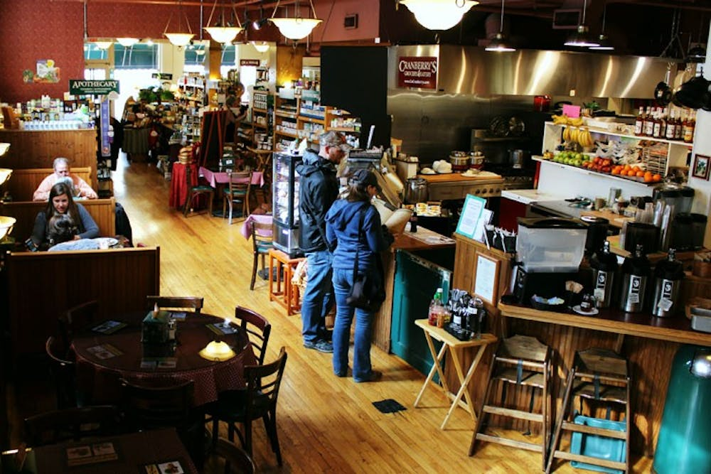 <p>Cranberry's Grocery & Eatery offers a wide array of breakfast and lunch indulgences, a small grocery section and a cozy atmosphere.</p>