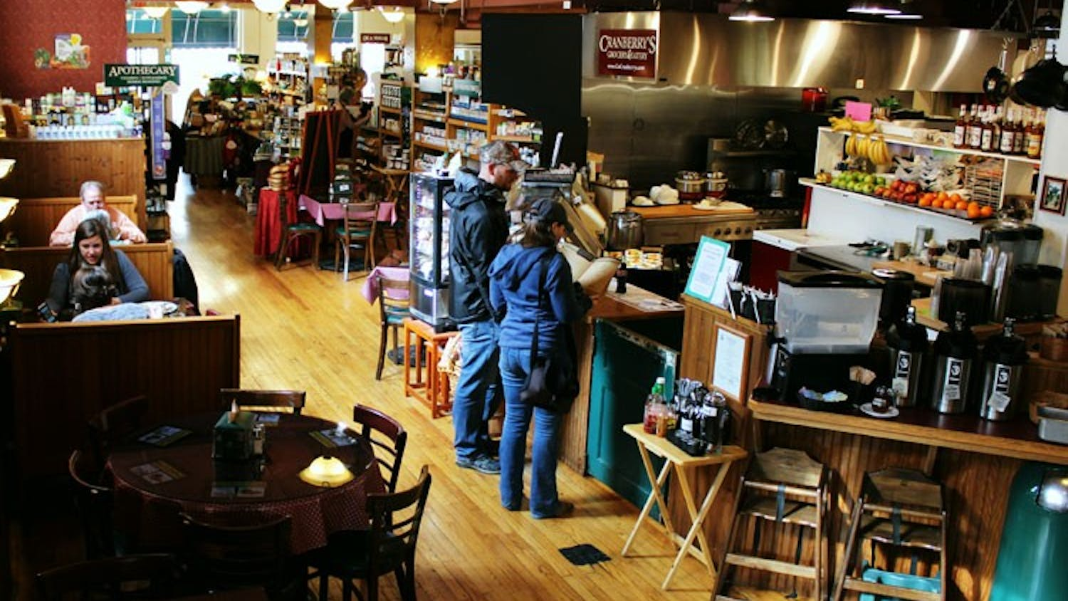Cranberry's Grocery & Eatery offers a wide array of breakfast and lunch indulgences, a small grocery section and a cozy atmosphere.