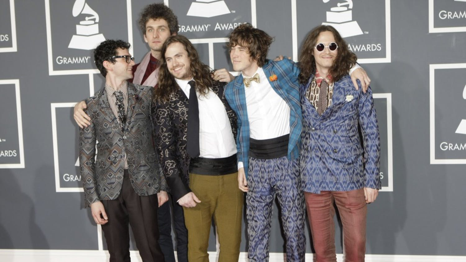 MGMT arrives at the 52nd Annual Grammy Awards at the Staples Center in Los Angeles, California, on Sunday, January 31, 2010. (Jay L. Clendenin/Los Angeles Times/MCT)