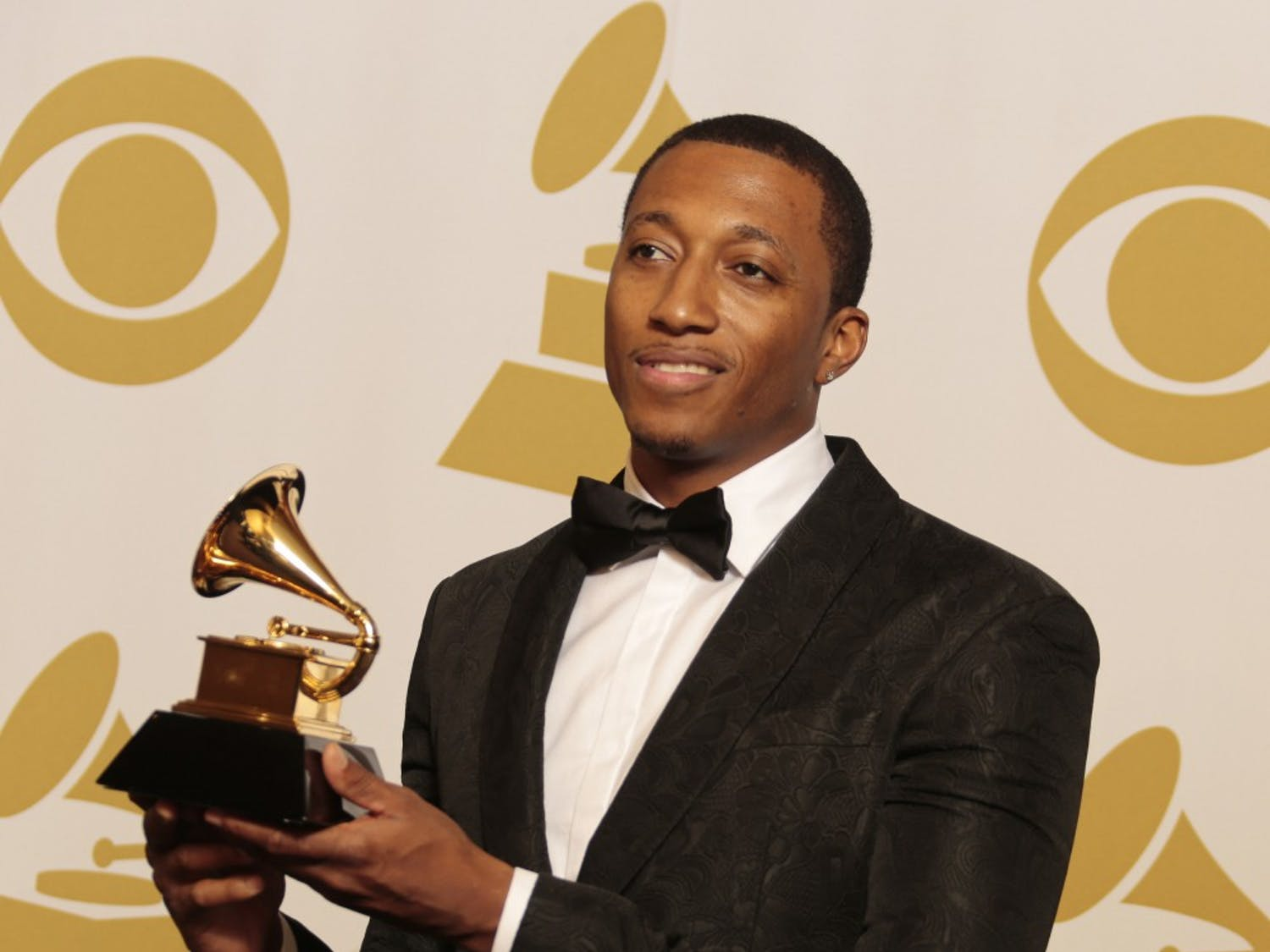 Lecrae backstage at the 57th Annual Grammy Awards at Staples Center in Los Angeles on Sunday, Feb. 8, 2015. (Lawrence K. Ho/Los Angeles Times/TNS)
