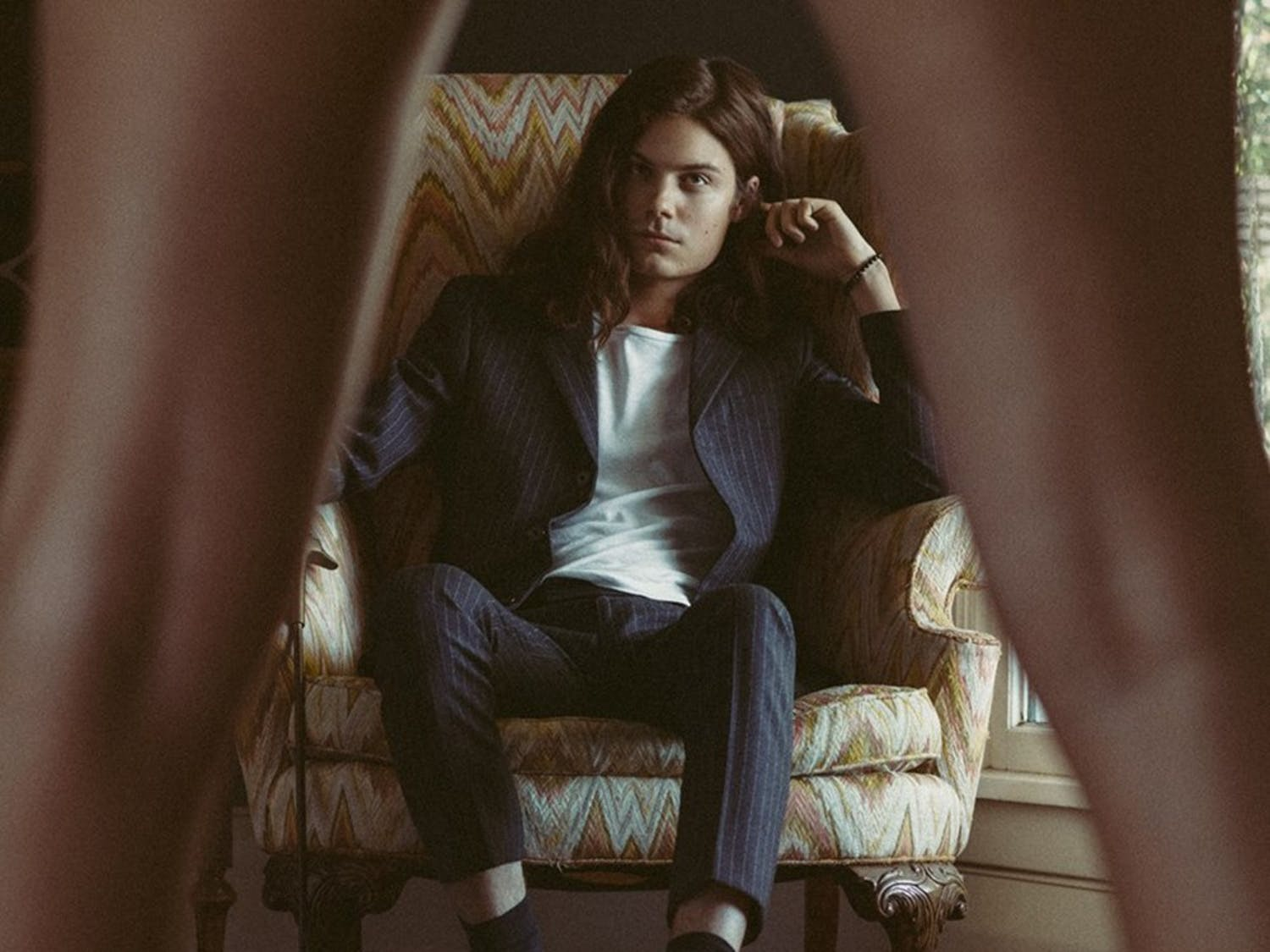 BØRNS, an indie pop artist who bases his sound onthe West Coast vibe, came to Greene Street on Wednesday to perform a free concert for students.