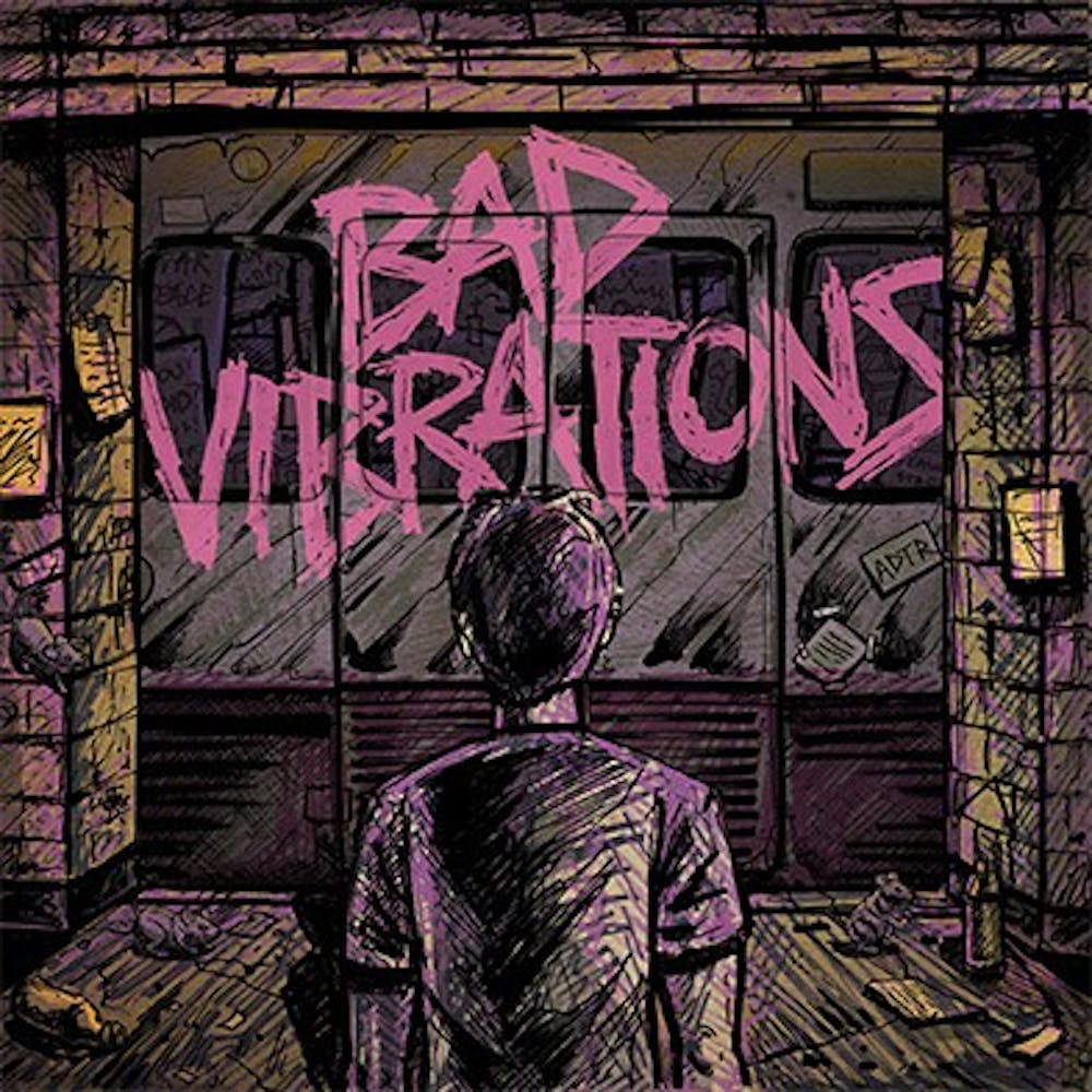 """<p>A Day to Remember's sixth studio album, """"Bad Vibrations,"""" released on Sept. 2.</p>"""