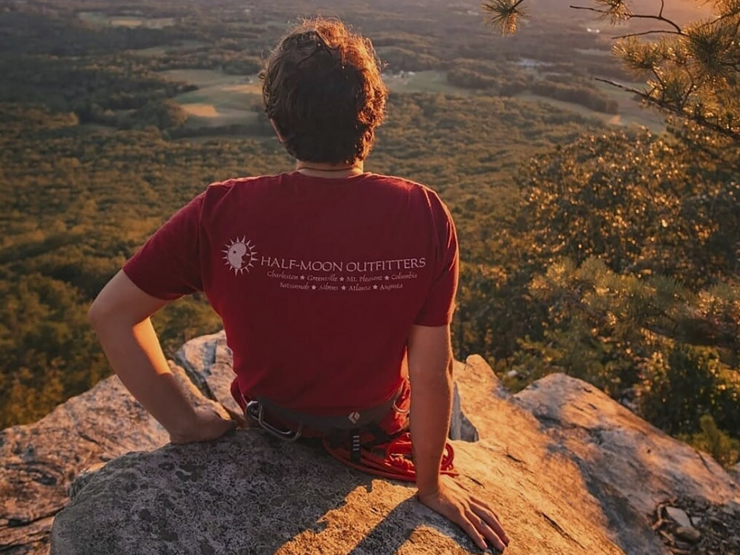 The Carolina Mountaineering and White Water Club can be found scaling mountains and exploring the outdoors to get to beautiful summits of the Carolina mountains.