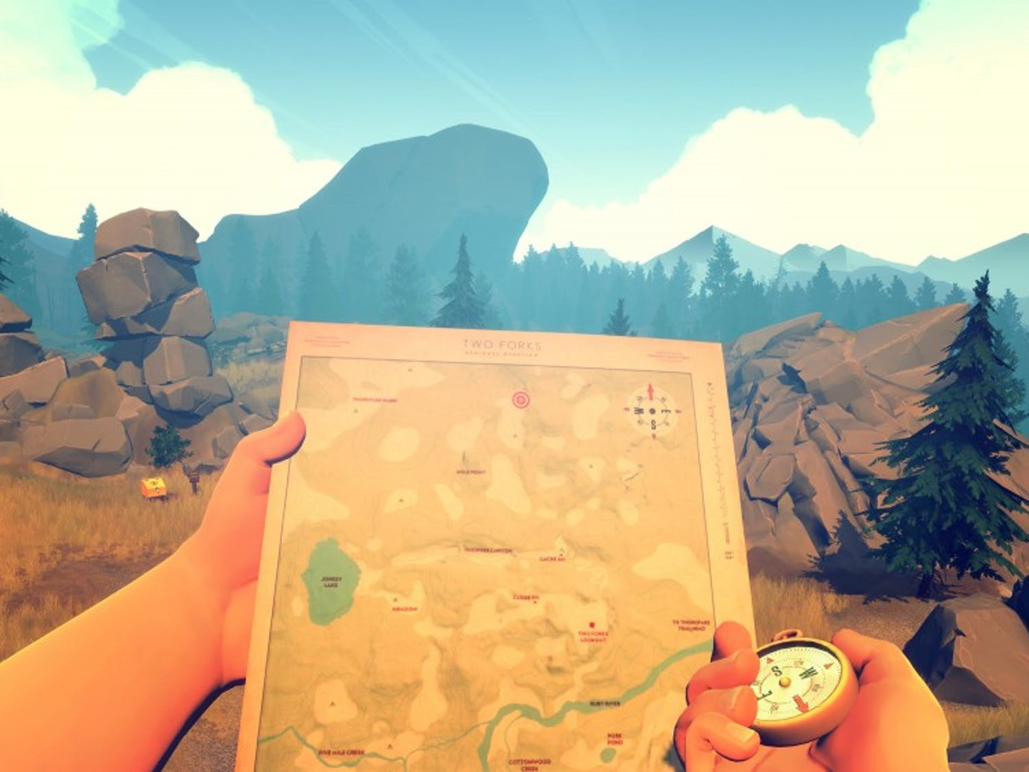 'Firewatch' released on Feb. 9 with beautiful graphics and a cutting-edge method of video-game storytelling.