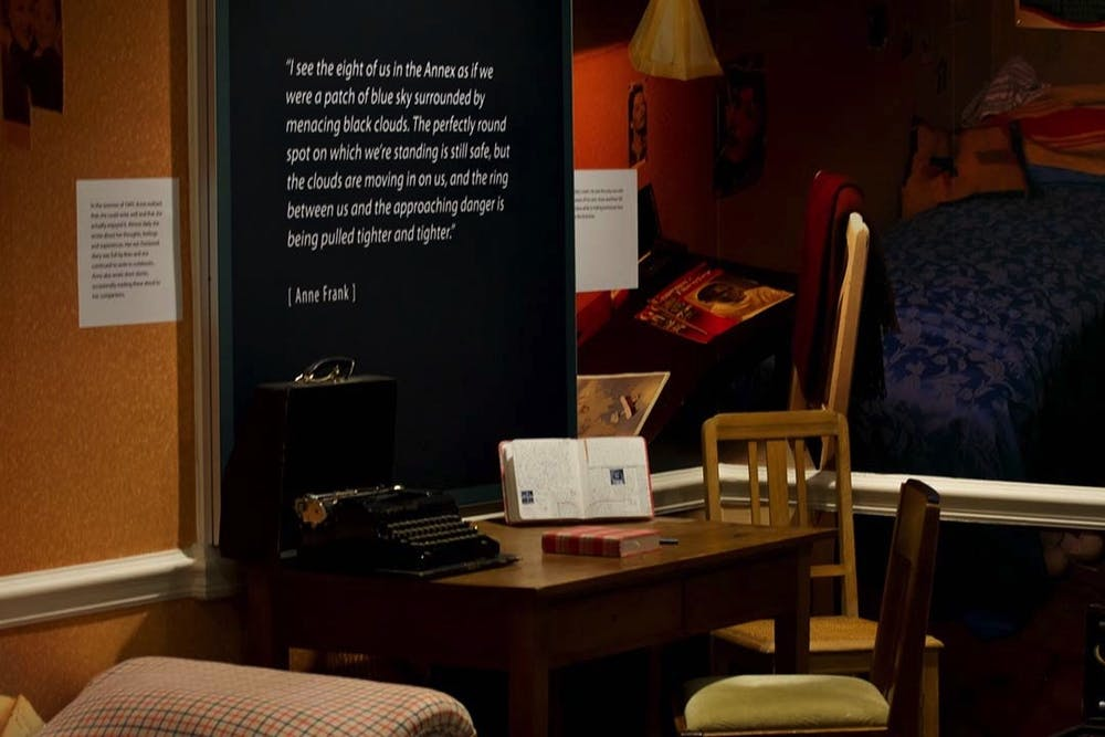 <p>A re-creation of the space the Frank family lived in from 1942 to 1944, with a replica of the desk where Anne Frank wrote her diary. The Anne Frank Center is one of the Anne Frank House's four partner sites internationally and the first in North America.&nbsp;</p>