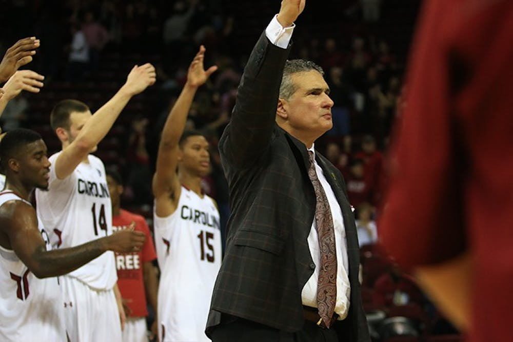 <p>Coach&nbsp;Frank Martin recently elaborated on his opposition to late start times.&nbsp;</p>