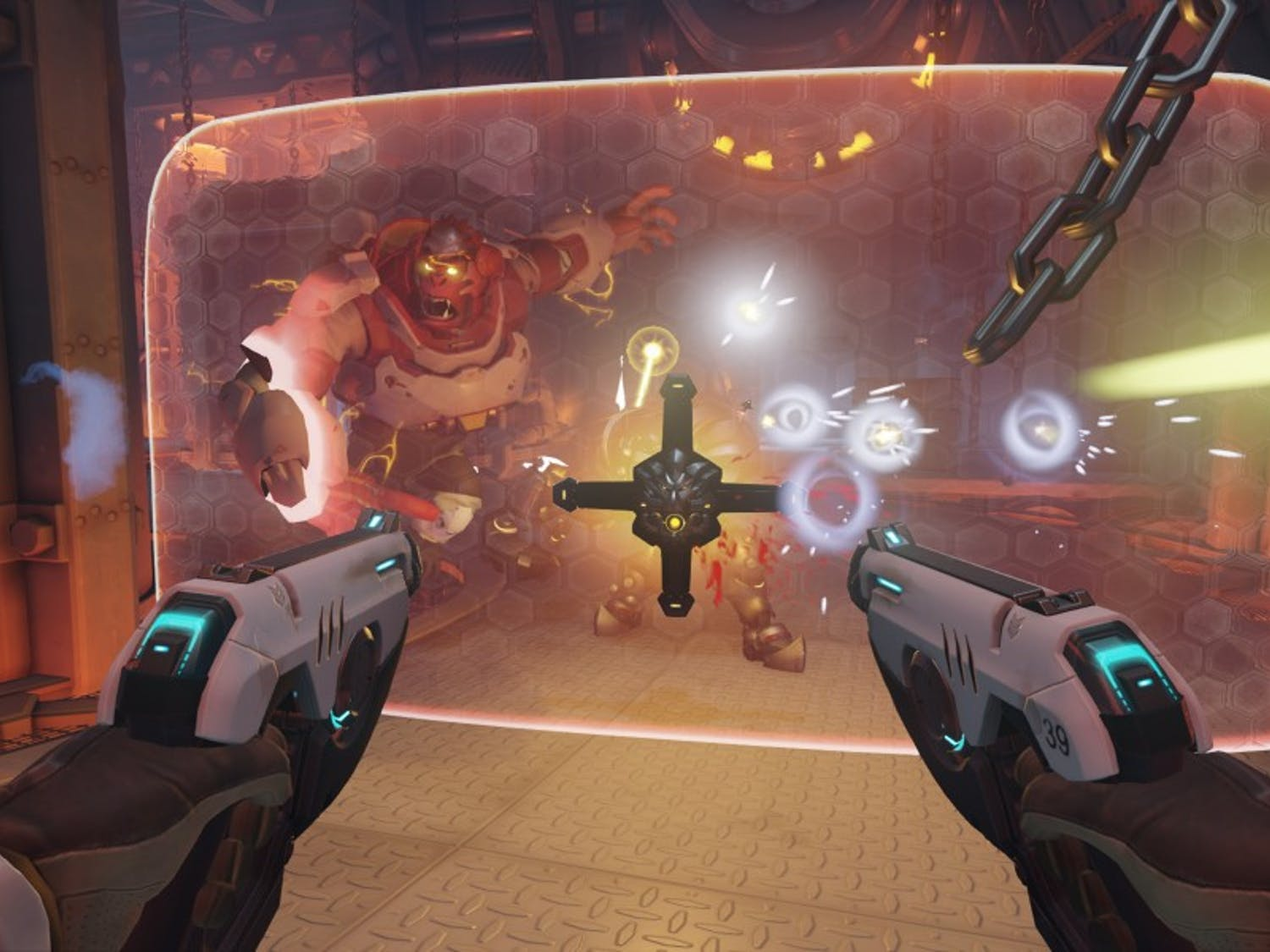 """A scene from """"Overwatch."""" (Photo courtesy Blizzard/TNS)"""