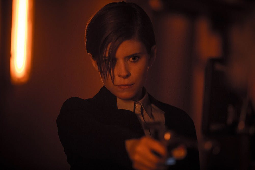 """Kate Mara as Lee Weathers in the movie """"Morgan"""" portrays a corporate troubleshooter whose investigation of a seemingly innocent human named Morgan, suddenly takes a dangerous turn. (Aidan Monaghan/20th Century Fox/TNS)"""