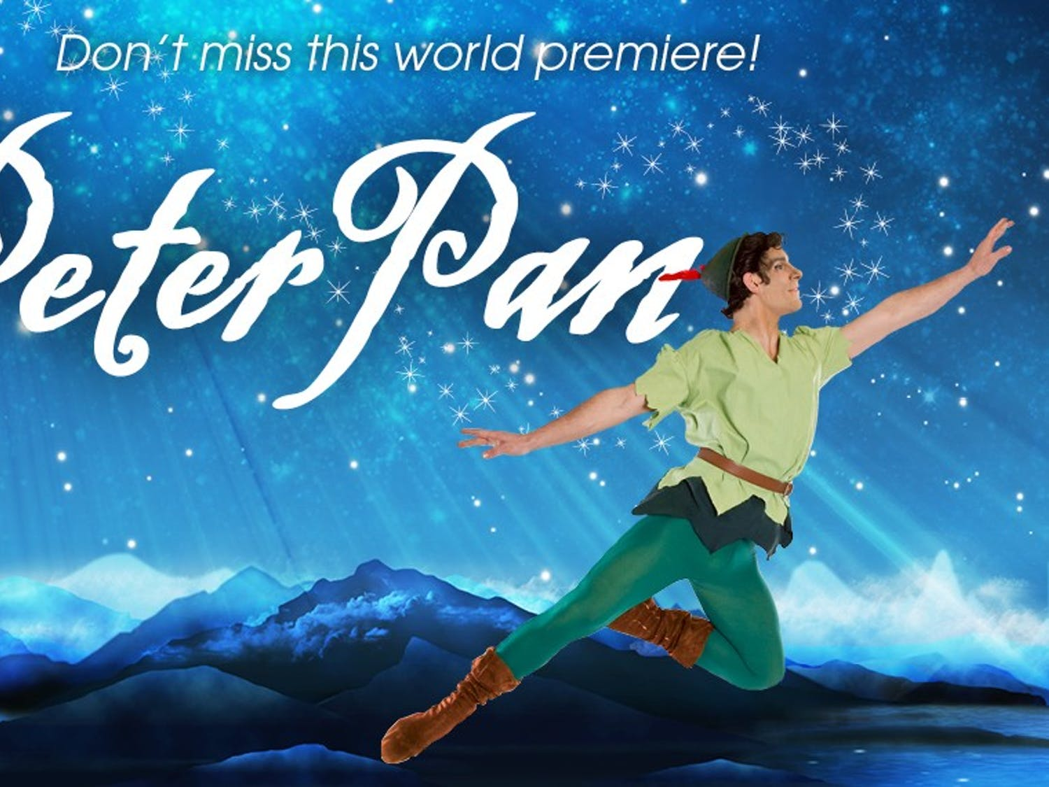 Columbia City Ballet Artistic Director William Starrett brings the story of Peter Pan to the stage through original choreography and whimsical characters.