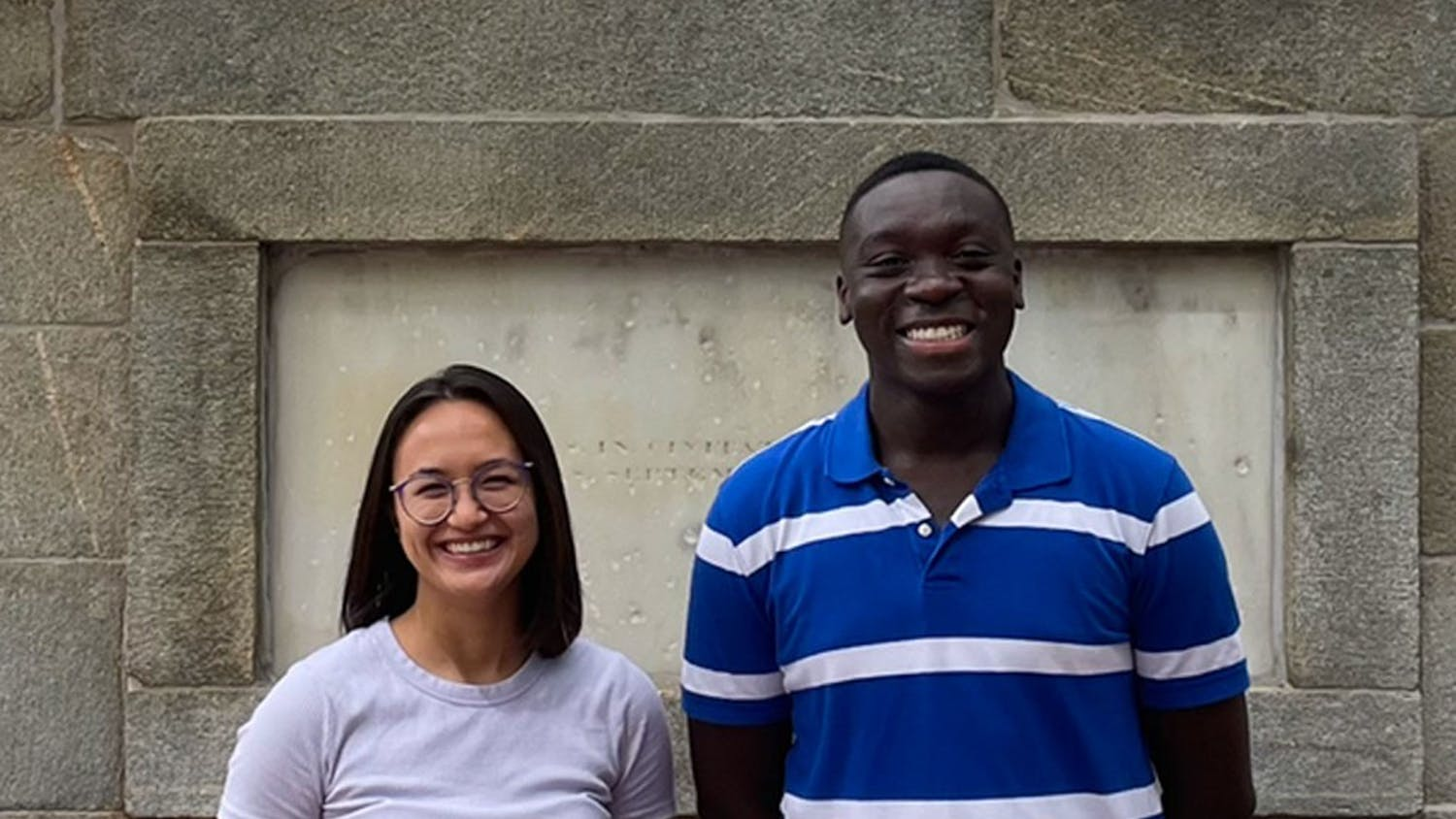 Layne Scopano and Kwame Kennedy, the co-founders of a newspaper that humanizes people experiencing homelessness in Columbia. The publication will offer policy recommendations to solve homelessness and deconstruct stereotypes by providing a platform to houseless people.