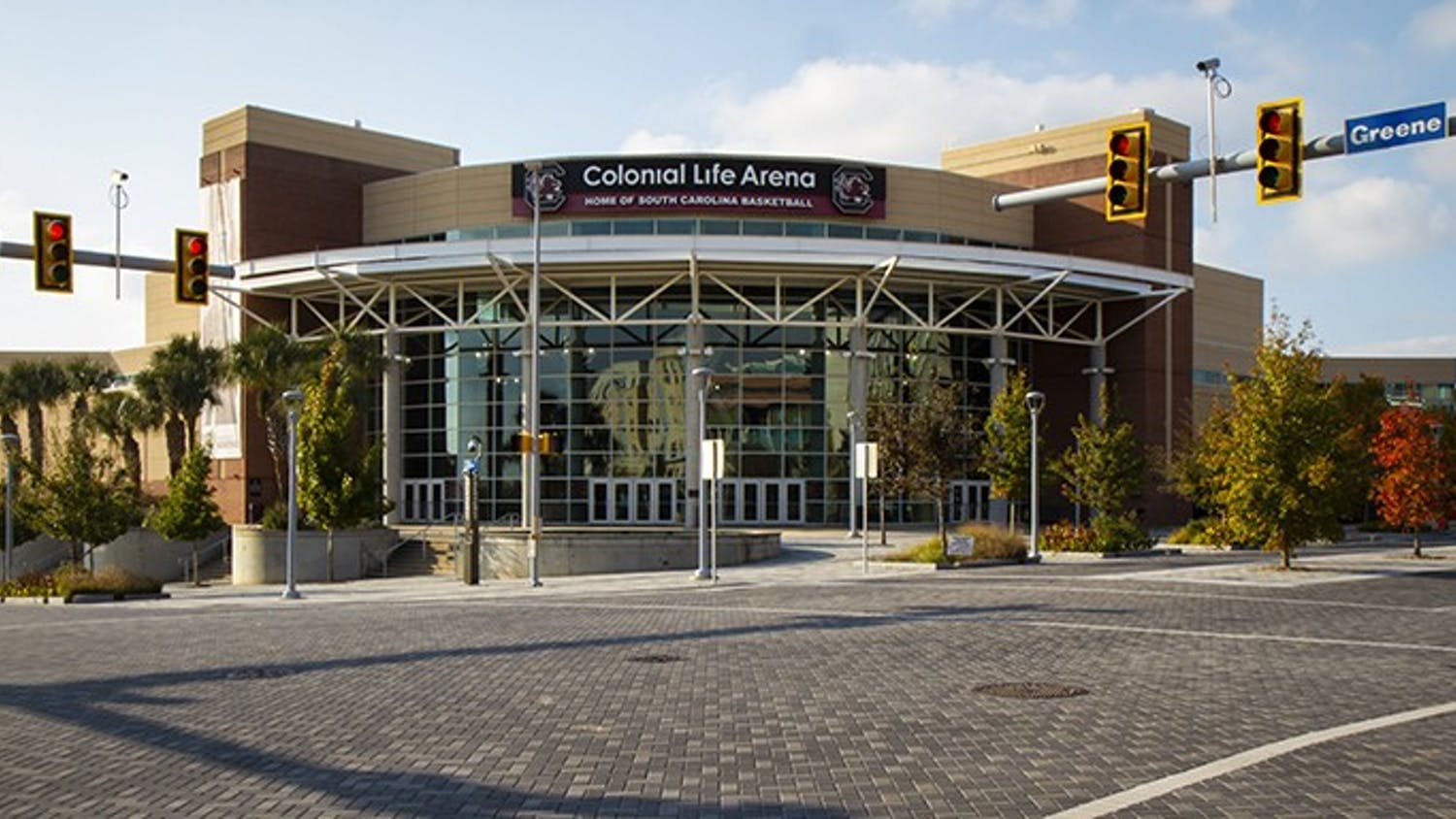 Colonial Life Arena is home to the University of South Carolina men's and women's basketball teams.