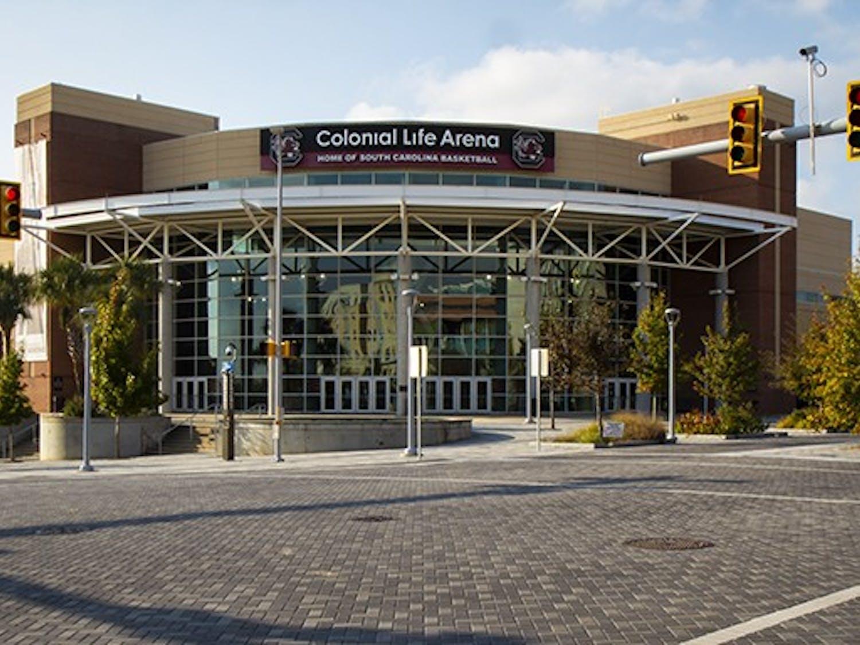 Colonial Life Arenais home to the University of South Carolina men's and women's basketball teams.