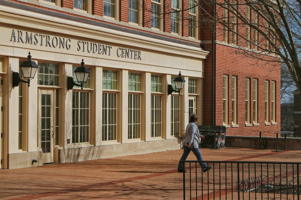 <p>Armstrong Student Center may soon be allowing gatherings large than 10 people inside the building. </p>